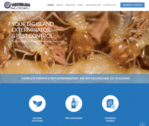 Veteran Termite Website